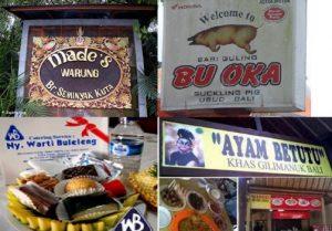 Kuliner Bali populer