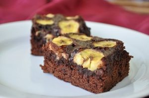 brownies pisang