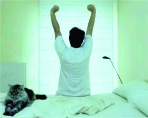 kegiatan setelah bangun tidur
